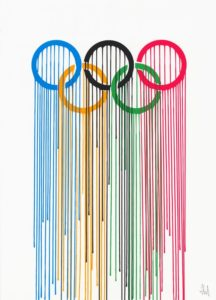 Olympic Rings by ZEVS